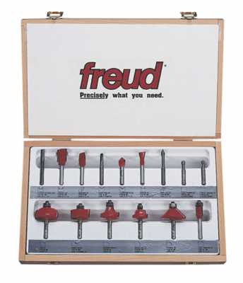 91-103 Freud 5 Piece Introductory Set 1//2 Shank