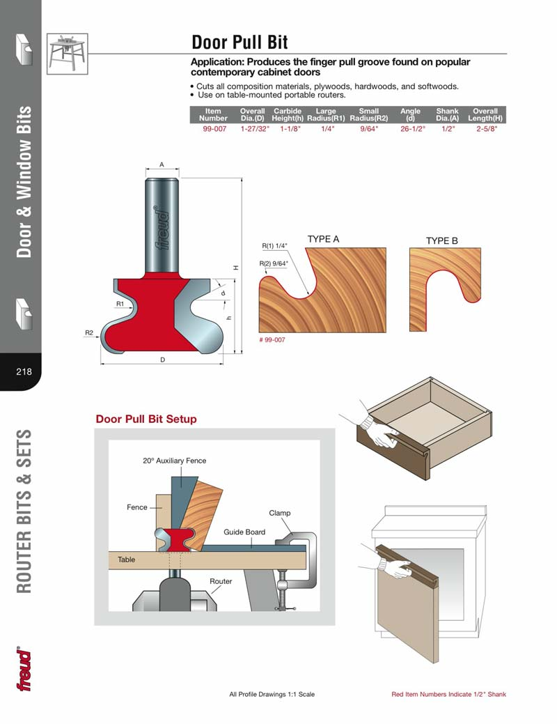 Cabinet Door Finger Pull Router Bit Cabinets Decorating Ideas