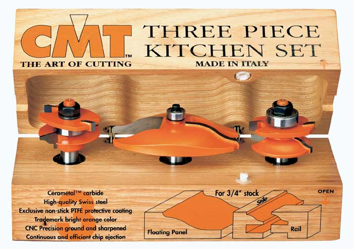 Cmt Three Piece Kitchen Set