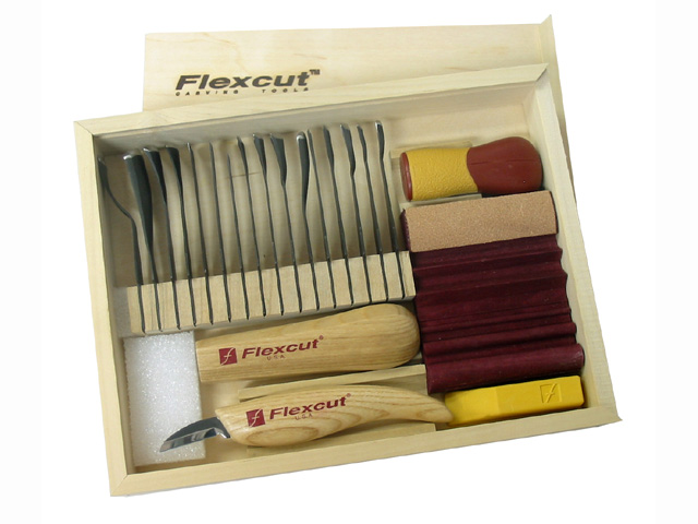 Flexcut sk piece starter carving set