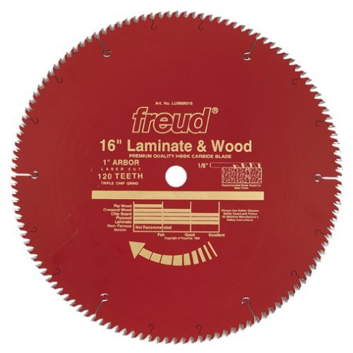 Freud Lu98r016 16 Quot Diameter X 120t Tcg Single Sided