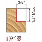 "[FREUD 32-102]   1/2"" Height X 3/8"" Deep Rabbeting Router Bit (1/2"" Shank)"