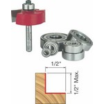 "[FREUD 32-504]   1/2"" Height Multi-Rabbet Router Bit Set With 6 Bearings (1/4"" Shank) (Flush, 1/8"", 1/4"", 5/16"", 3/8"" 7/16"", 1/2"")"