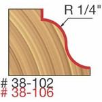 "[FREUD 38-102]   1/4"" Radius Roman Ogee Router Bit (1/4"" Shank)"