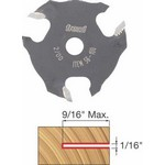 "[FREUD 56-100]   1/16"" 3-Wing Slot Cutter For 5/16 Router Arbor"