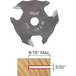 "[FREUD 56-106]   3/32"" 3-Wing Slot Cutter For 5/16 Router Arbor"