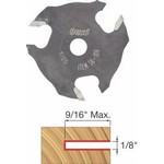 """[FREUD 56-108]   1/8"""" 3-Wing Slot Cutter For 5/16 Router Arbor"""