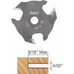 "[FREUD 56-109]   5/32"" 3-Wing Slot Cutter For 5/16 Router Arbor"