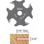 "[FREUD 58-106]   3/32"" 4-Wing Slot Cutter For 5/16 Router Arbor"