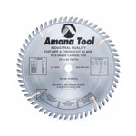 """[AMANA 610601]  10""""/60T CUT-OFF SAW TCG GRIND"""