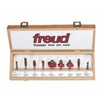 "[FREUD 88-100]   9-Piece Basic Router Bit Set (1/4"" Shank)"