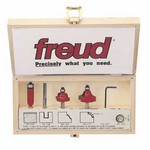 "[FREUD 88-104]  Five Piece Introductory Router Bit Set (1/4"" Shank)"