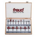 "[FREUD 90-100]   15 Piece Advanced Router Bit Set (1/4"" Shank)"