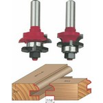 "[FREUD 99-260]  Quarter Round Rail And Stile Bit Set (1/2"" Shank)"