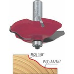 "[FREUD 99-510]   5/8"" Height 2+2 Round Ogee Raised Panel Router Bit (1/2"" Shank)"