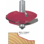 "[FREUD 99-512]   5/8"" Height 2+2 Round-Angled Raised Panel Router Bit (1/2"" Shank)"