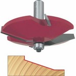 "[FREUD 99-515]   1/2"" Height 2+2 Straight-Angled Raised Panel Router Bit (1/2"" Shank)"