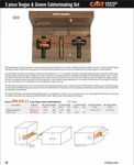 [CMT 800.526.11]  3 Pcs Tongue & Groove Cabinetmaking Set