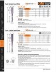 [CMT 310.080.21]  DOWEL DRILL 8x27x57.5 RH