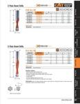 [CMT 311.090.41]  Dowel Drill 9x35x70 RH