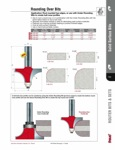 """[FREUD 85-342]  1/4"""" Radius Solid Surface Round Over Router Bit (1/2"""" Shank)"""