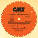 "[CMT 201.020.08]  8"" X 20T Ftg Ripping Saw Blade With 5/8"" Arbor (.126 Kerf)"