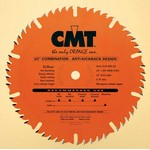 "[CMT 215.040.08]  8"" Diameter X 40T 4ATB+1TCG Thin Kerf Combination Saw Blade With 5/8"" Arbor (.126 Kerf)"