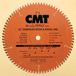 """[CMT 219.060.08]  8-1/2"""" Diameter X 60T 4ATB+1TCG Compound Miter And Radial Saw Blade With 5/8"""" Arbor (.118 Kerf)"""