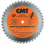 "[CMT 251.042.10]  10"" Diameter X 42T ATB Industrial Thin Kerf General Purpose Saw Blade With 5/8"" Arbor (.098 Kerf)"