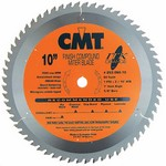 """[CMT 253.060.08]  8-1/2"""" Diameter X 60T ATB Industrial Thin Kerf Finish Compound Miter Saw Blade With 5/8"""" Arbor (.087 Kerf)"""