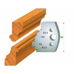 [CMT 690.558]  50mm Profile Knives For Insert Shaper System - Pair Knives HSS 50x4mm