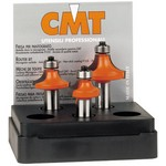 [CMT 838.001.11]  3-Pcs Roundover Set