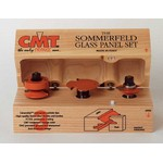 "[CMT 855.803.11]  Sommerfeld 3 Piece Ogee Glass Panel Router Bit Set (1/2"" Shank)"