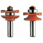 "[CMT 891.502.11]  Quarter Round 2 Piece Rail And Stile Router Bit Set (1/2"" Shank) (For Stock 11/16"" To 7/8"" Thick)"