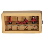 "[FREUD 91-103]  5 Pc. Introductory Router Bit Set (1/2"" Shank)"