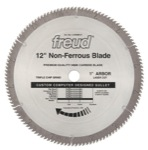 "[FREUD LU90M012] 12"" Diameter X 120T TCG Thin Stock Non-Ferrous Metal Carbide-Tipped Saw Blade With 1"" Arbor (.118 Kerf)"