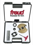 "[FREUD RP2000]  Performance Shaper Cutter System Basic Raised Panel Set (1-1/4"" Bore) (Cutter-Head And 5 Profile Knives)"