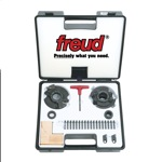 [FREUD RS2000]  Performance System Rail & Stile Shaper Cutter Set + 9 Sets Knives