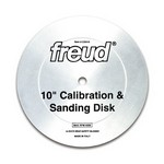 "[FREUD CD010] 10"" Calibration & Sanding Disk With 5/8"" Arbor"