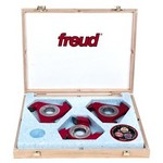 [FREUD CS71MBA3]  Cassette 65 7 Piece Shaper Cutter Set With Bore 1-1/4