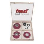 [FREUD FU100]  Futura 2000 Custom Door Shop Carbide Tipper Shaper Cutter Set