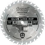 "[FREUD LM74M010] 10"" Diameter X 30T TCG Glue Line Ripping Carbide-Tipped Saw Blade With 5/8"" Arbor (.118 Kerf)"