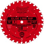 "[FREUD LM74R010] 10"" Diameter X 30T TCG Glue Line Ripping Carbide-Tipped Saw Blade With 5/8"" Arbor (.118 Kerf)"