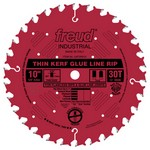 "[FREUD LM75R010] 10"" Diameter X 30T Thin Kerf Glue Line Rip Saw Blade"