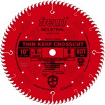 "[FREUD LU74R012] 12"" Diameter X 96T ATB Thin Kerf Ultimate Crosscut Carbide-Tipped Saw Blade With 1"" Arbor (.106 Kerf)"