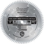 "[FREUD LU77M010] 10"" Diameter X 80T TCG Thin Kerf Non-Ferrous Metal Carbide-Tipped Saw Blade With 5/8"" Arbor (.091 Kerf)"
