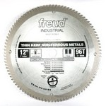 "[FREUD LU77M012] 12"" Diameter X 96T TCG Thin Kerf Non-Ferrous Carbide-Tipped Saw Blade With 1"" Arbor (.091 Kerf)"