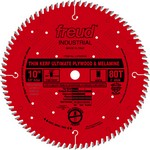 "[FREUD LU79R010] 10"" Diameter X 80T Hi-ATB Thin Kerf Ultimate Plywood & Melamine Carbide Tipped Saw Blade With 5/8"" Arbor (.098 Kerf)"