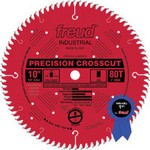 "[FREUD LU80R012] 12"" Diameter X 96T HiATB Ultra Finish Carbide-Tipped Saw Blade With 1"" Arbor (.126 Kerf)"