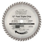 "[FREUD LU81M012] 12"" Diameter X 48T TCG Heavy Duty Multipurpose Carbide-Tipped Saw Blade With 1"" Arbor (.126 Kerf)"